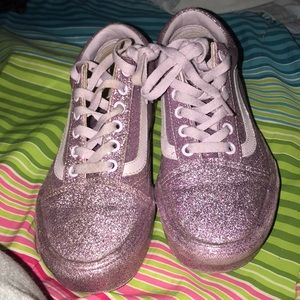 Purple Sparkly Vans